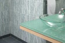 regalia glass tile bathroom