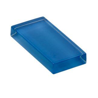 glasshues glossy bistro blue