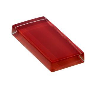 glasshues glossy deep crimson