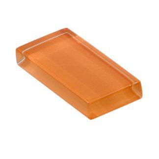 glasshues glossy orange zest