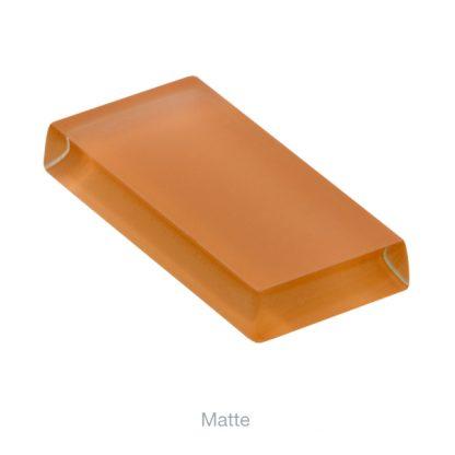 glasshues matte orange zest