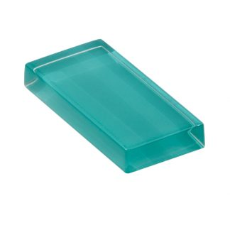 glasshues glossy rare turquoise