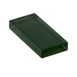 glasshues glossy tartan green