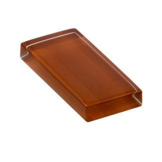 glasshues glossy tweedy brown
