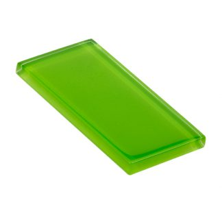 glasstints glossy bright green