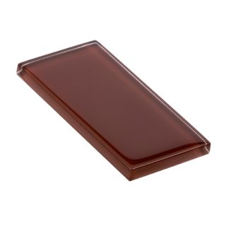 glasstints glossy mahogany brown