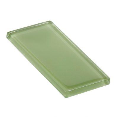 glasstints glossy willow green