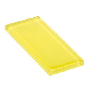 glasstints glossy yellow green