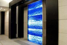 blue ribbon glass in japan
