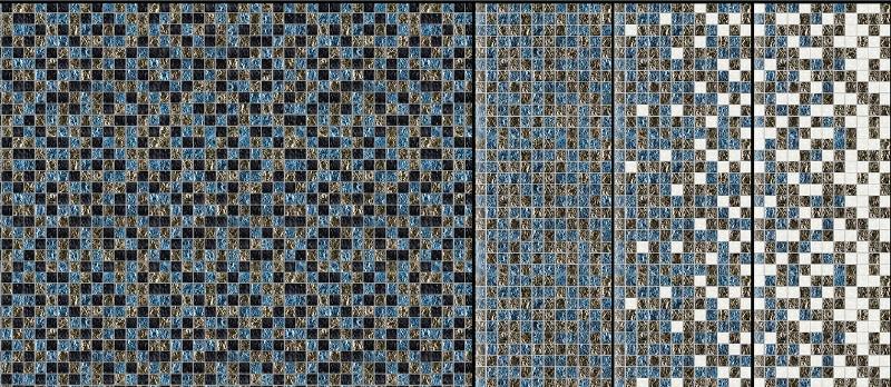 Custom designed burnished metals gradient