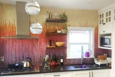 Fireside Kitchen Backsplash