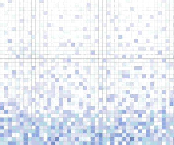 Vibrations - 1x1 gradation mosaic