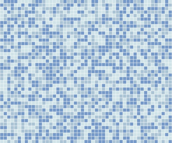 Random blend mosaic