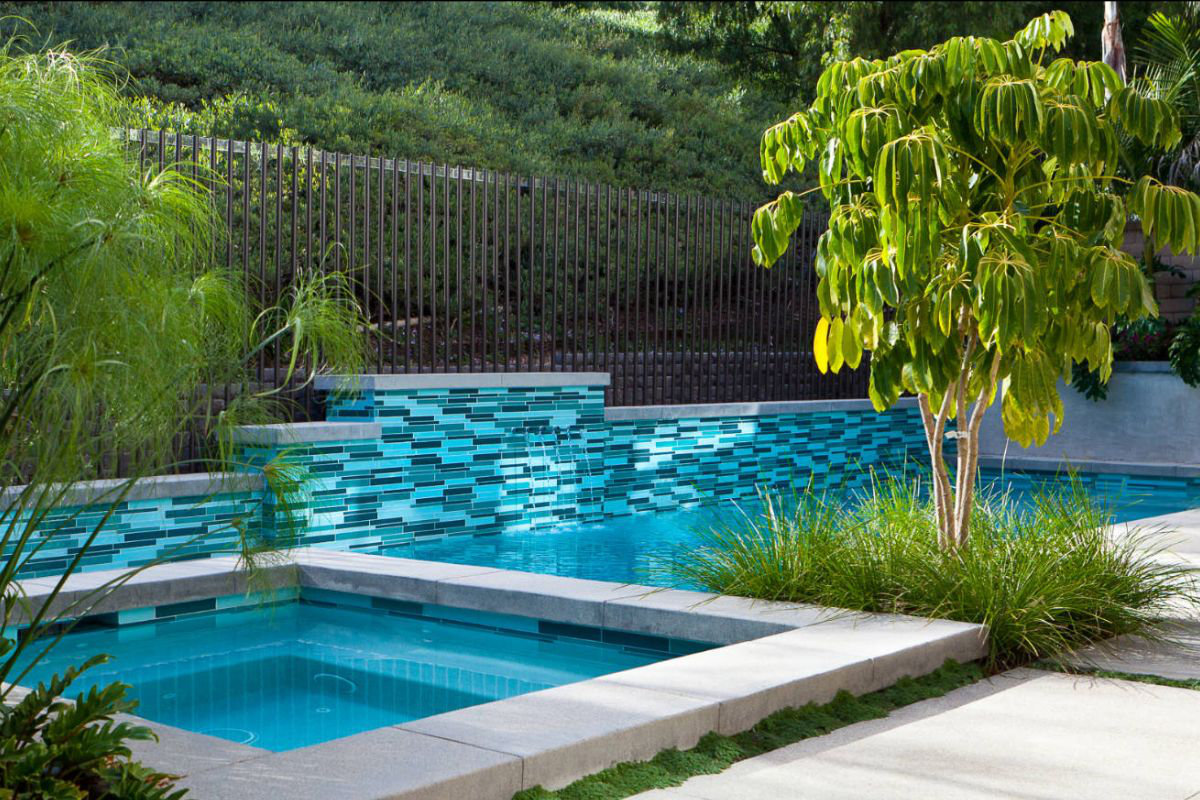 With a pool, backyards become destinations!
