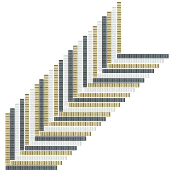 Tatami Glass Tile Blend 3