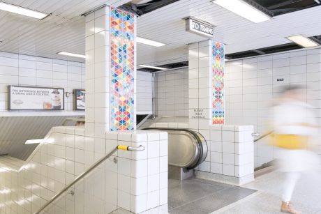 TTC Sherbourne Station Community Mosaic - Interstyle EarthenGlass