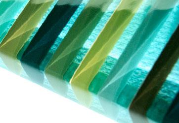 Barcode Glass Tile