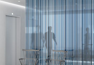 Art Glass Partitions