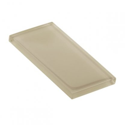 Alabaster Glossy Glass Tile