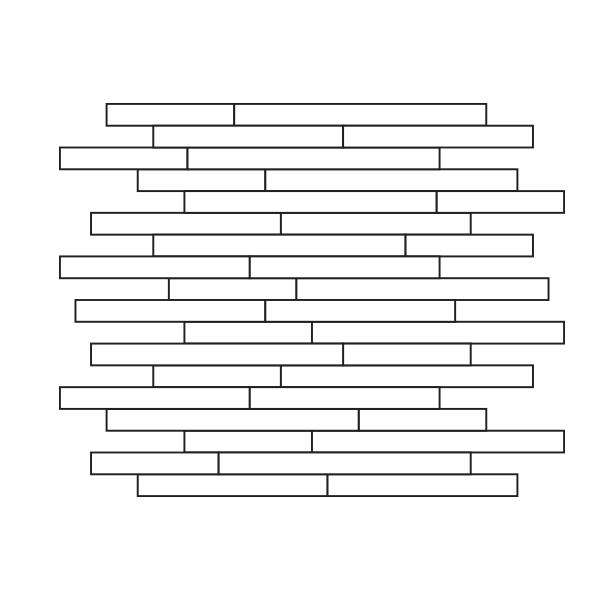 Glass Tile Jive Assembly / Pattern