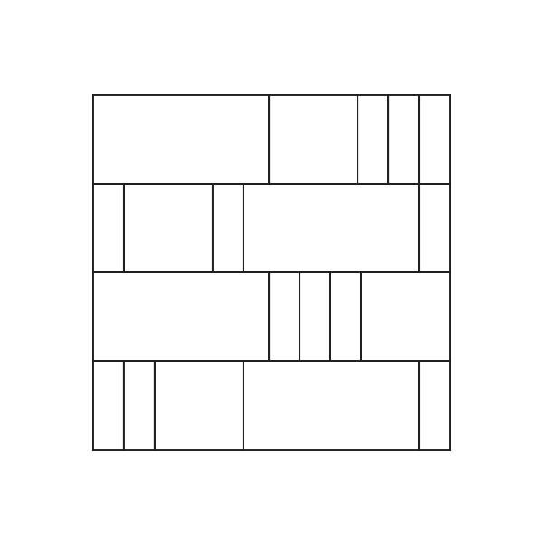 Glass Tile Shim Assembly / Pattern