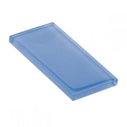 Blue Bonnet Glossy Glass Tile