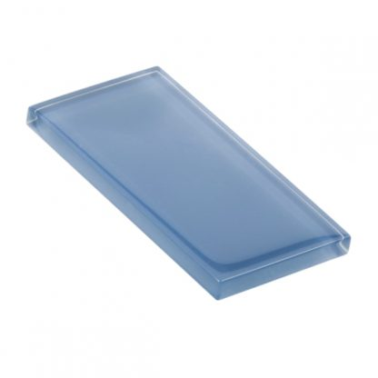 Blue Pearl Glossy Glass Tile