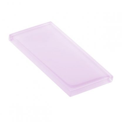 Blueberry Icing Glossy Glass Tile
