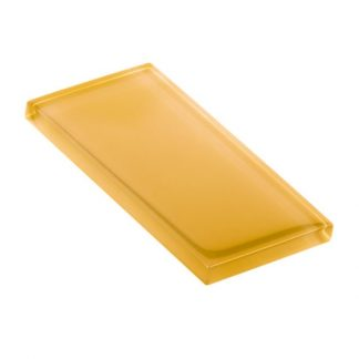 Cheese Melt Glossy Glass Tile