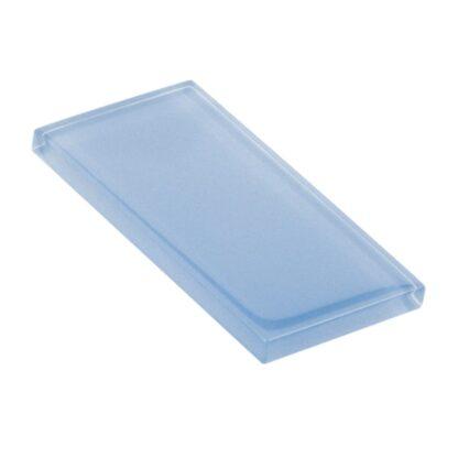 Cosmic Blue Metallic Glossy Glass Tile