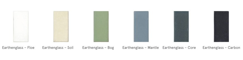 EarthenGlass Colors