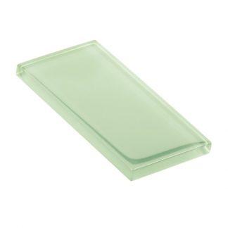 Diner Green Glossy Glass Tile