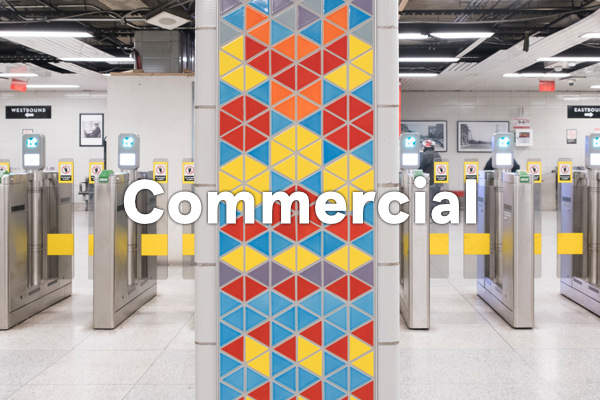 earthenGlass for commercial spaces - Sherbourne Station