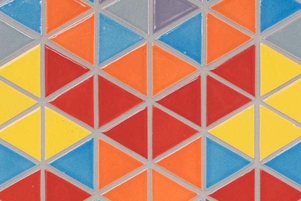 earthenGLASS triangles