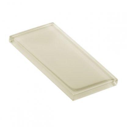 Eggshell Glossy Glass Tile