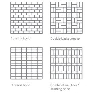 glass brick assembly options