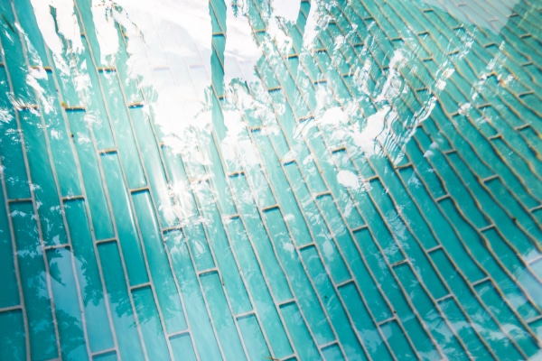 Tropic color collection glass tile inspiration