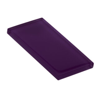 glasshues glossy bold purple