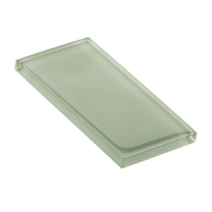 glasshues glossy dustry green