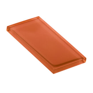 Glasstyle Rust Glossy Glass Tile