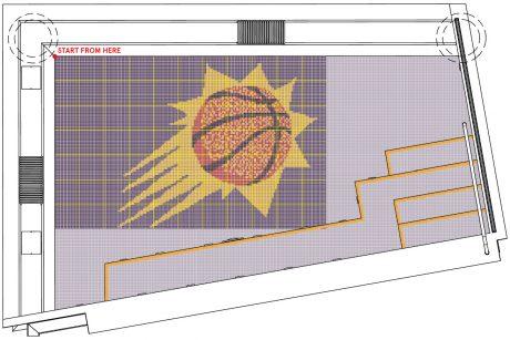 Phoenix Suns spa layout