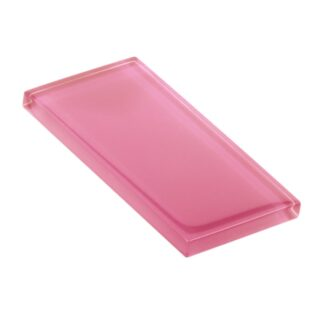 Pink Lady Glossy Glass Tile