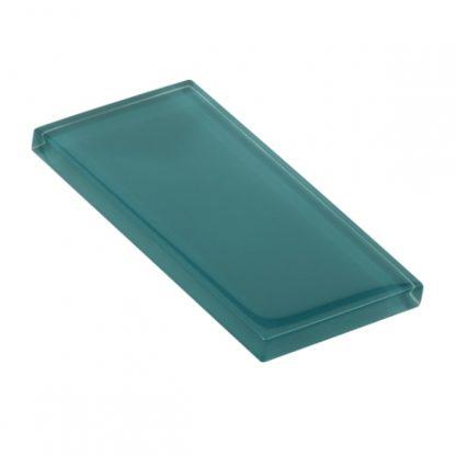 Polished Jade Glossy Glass Tile