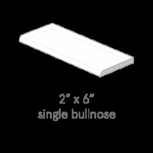 Single bullnose 2x6