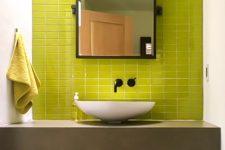 Private Residence - New Mexico Bathroom Backsplash Glass Tile