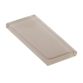 Raw Fiber Glossy Glass Tile