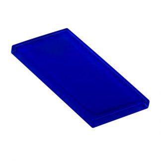 Royal Blue Glossy Glass Tile