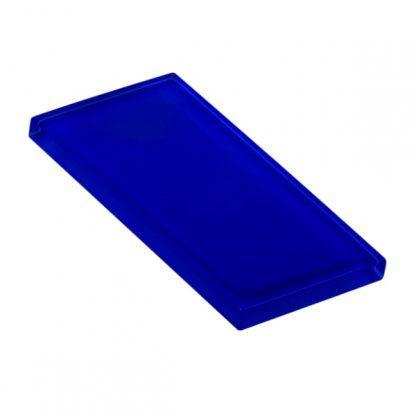 Royal Blue Glossy Glass Tile