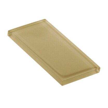 Venetian Gold Metallic Glossy Glass Tile